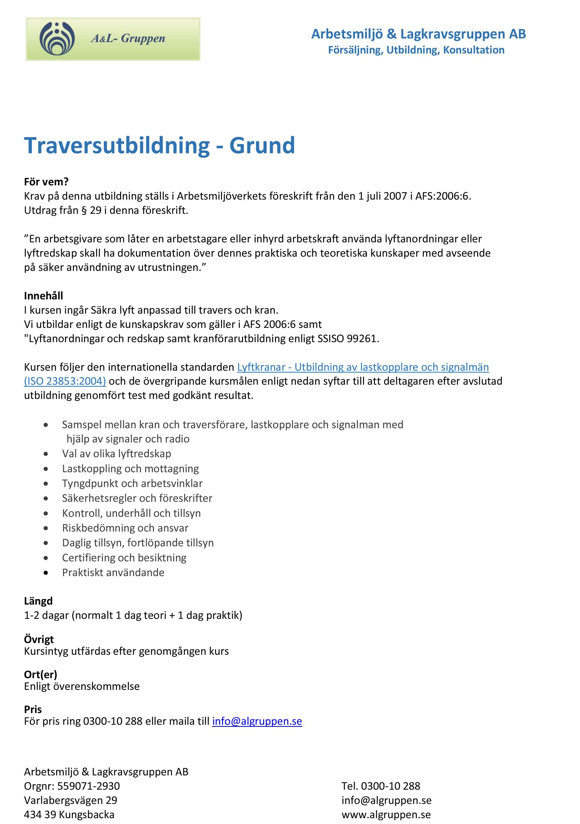 Traversutbildning Grund(2)