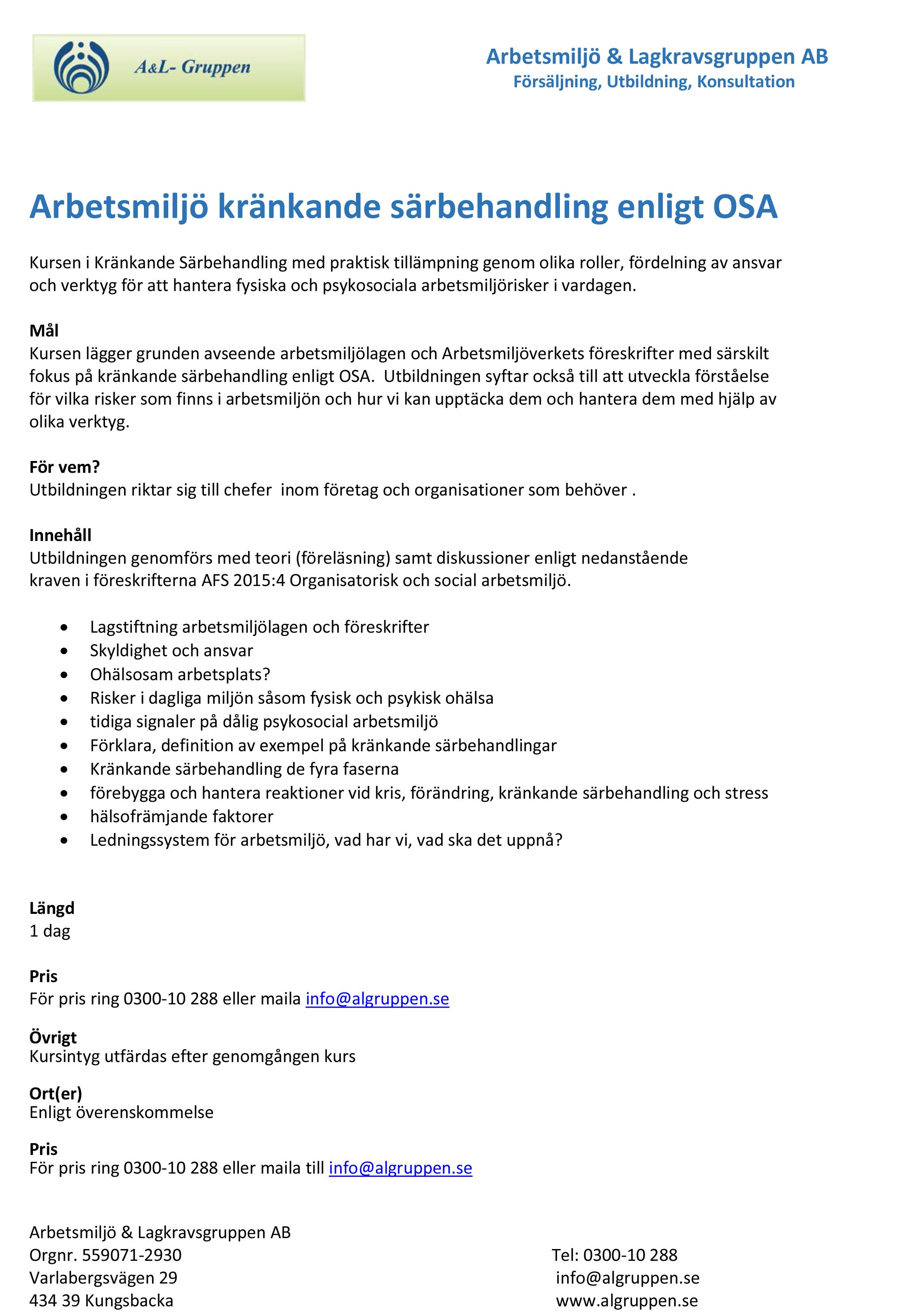Arbetsmiljo-Krankande-sarbehandling-enligt-OSA1-dag