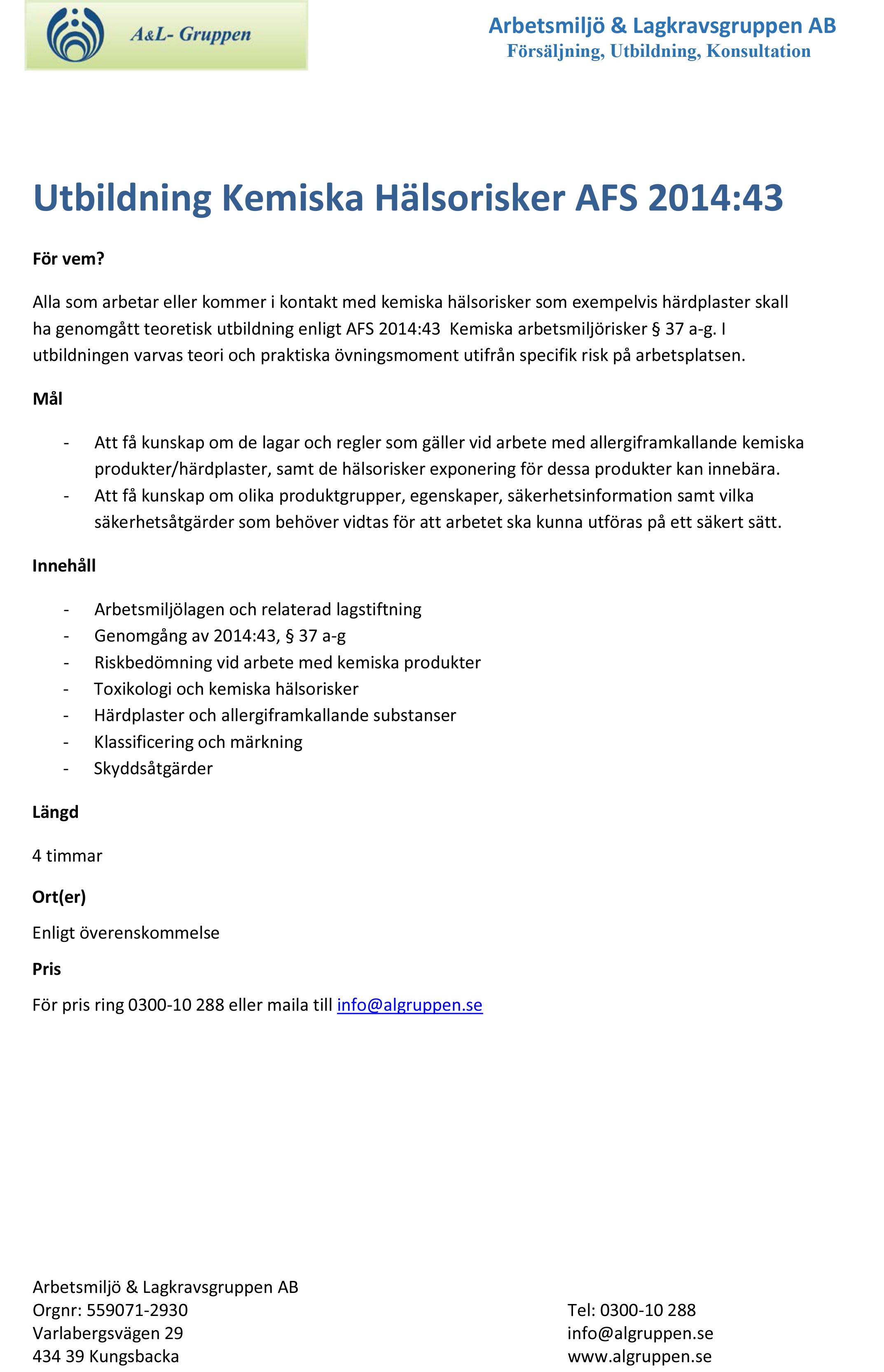 Utbildning-Kemiska-halsorisker-AFS-2014_43